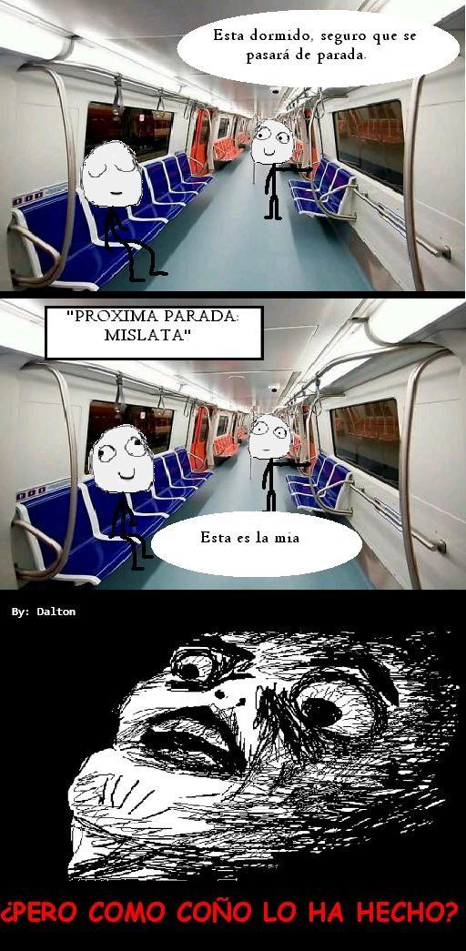despertar,metro,parada