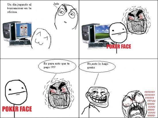 Trollface - Troll empleado