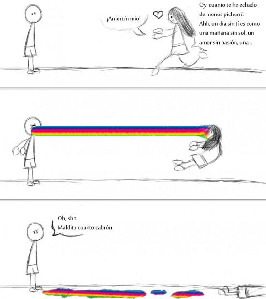 Puke_rainbows - Era inevitable