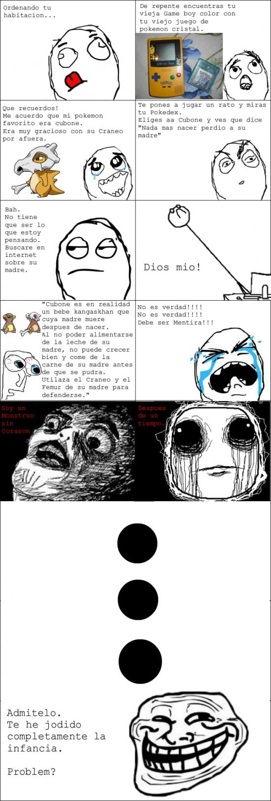 Trollface - La verdad de Pokemon