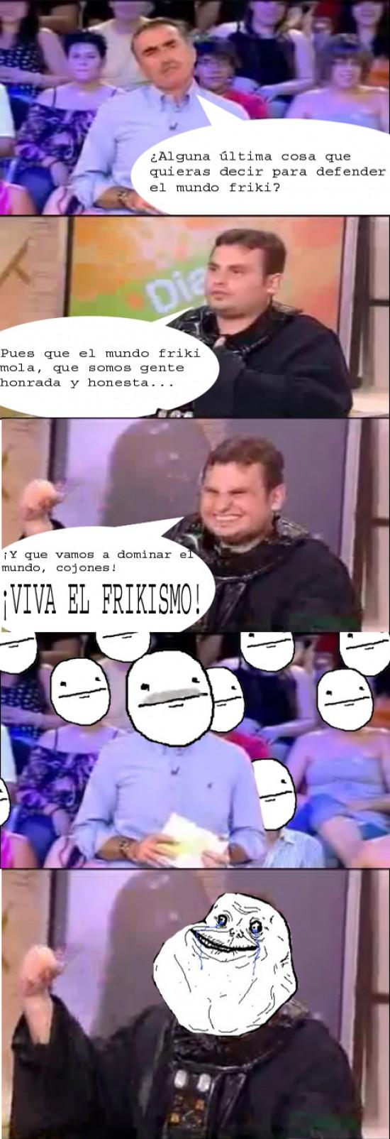 Forever_alone - Viva el frikismo