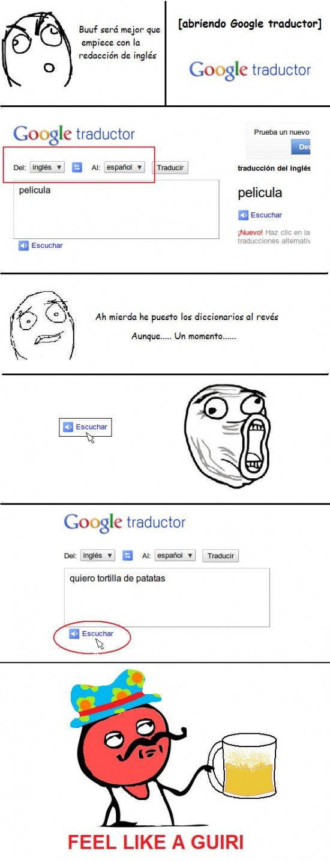Feel_like_a_sir - Probadlo en Google traductor!