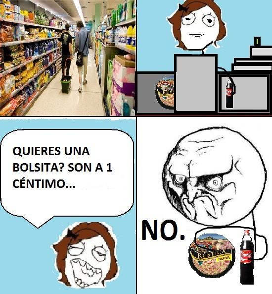 No - Bolsas NO