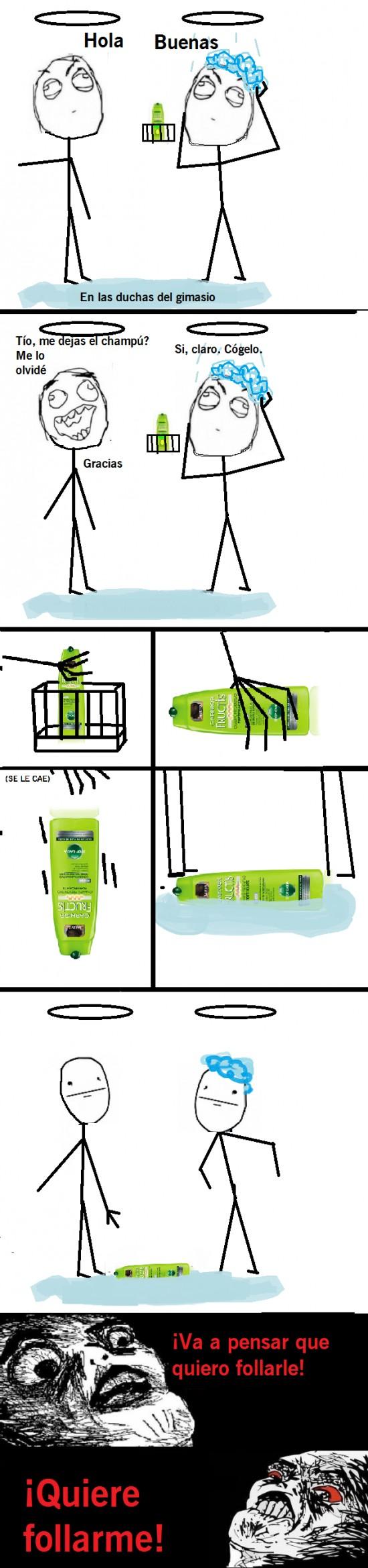 Inglip - Jabón en la ducha