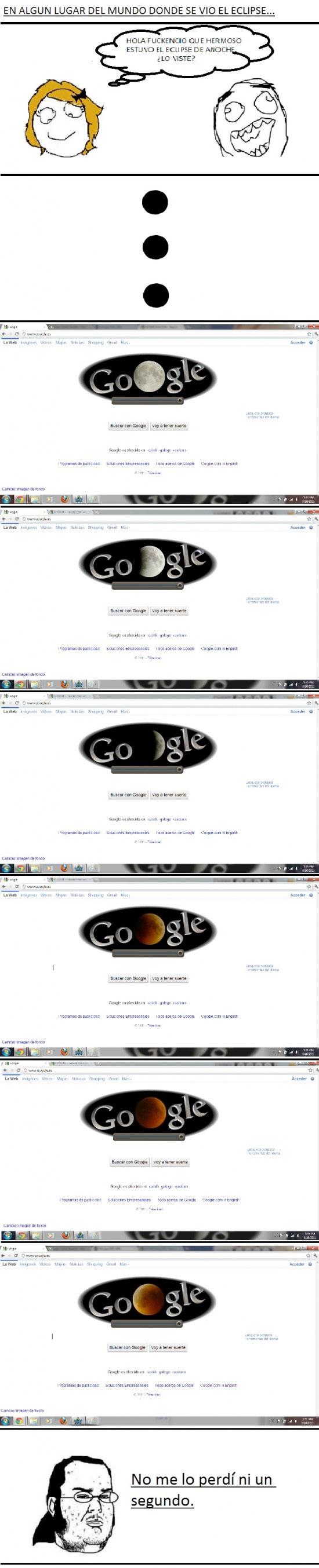 Friki - Eclipse lunar friki