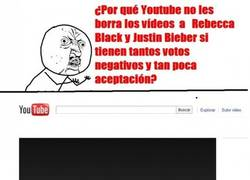 Enlace a Rebecca Black is over