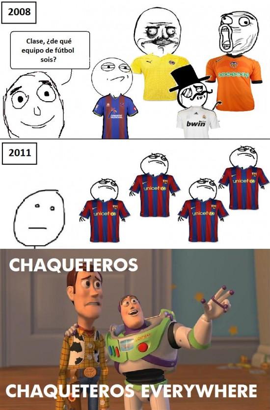 chaqueteros,everywhere,futbol