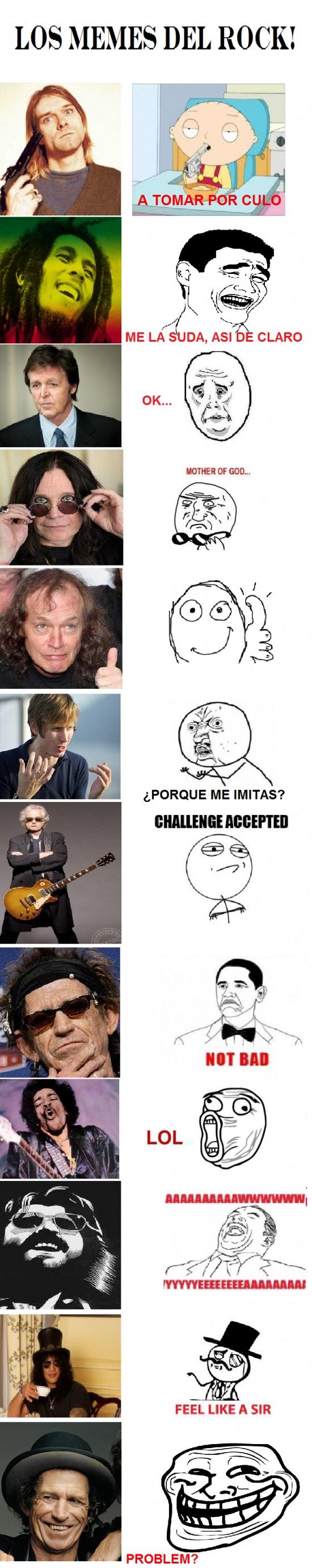 Mix - Memes del Rock