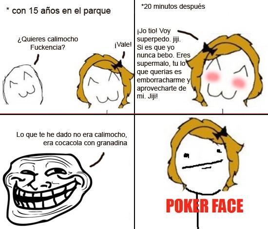 Borrachera,Botellon,Poker Face