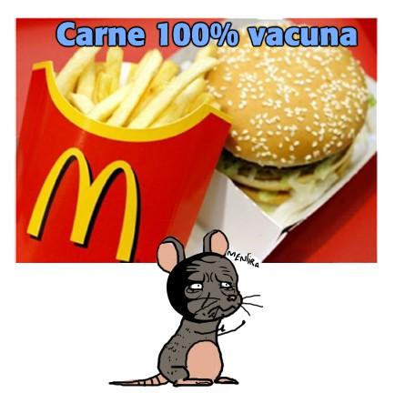 Mentira - 100% carne
