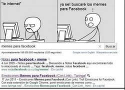Enlace a Memes en Facebook