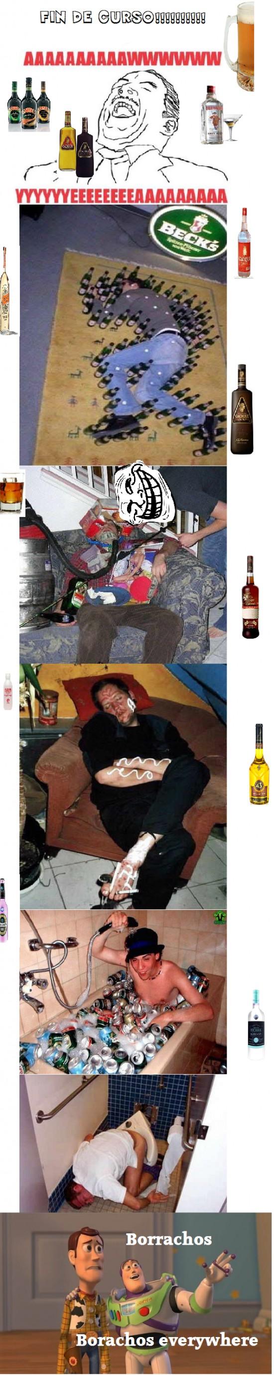 borrachos,everywhere,fin de curso,toy story