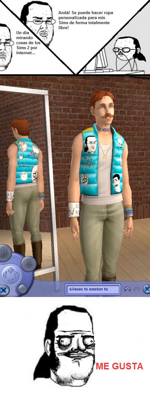 Friki - Memes en los Sims
