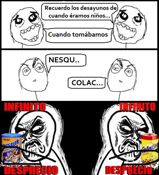 Infinito_desprecio - La infinita guerra entre ColaCao y Nesquik