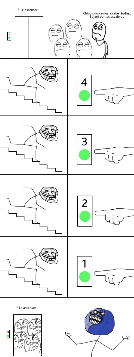 Menti - Trolleando el ascensor