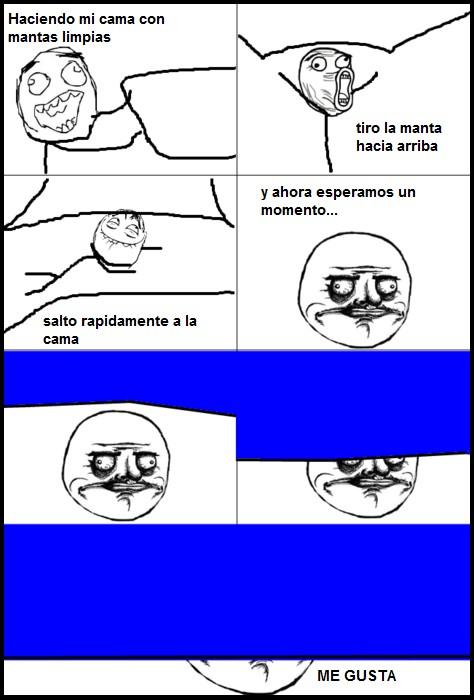 Me_gusta - Cómo hacer la cama