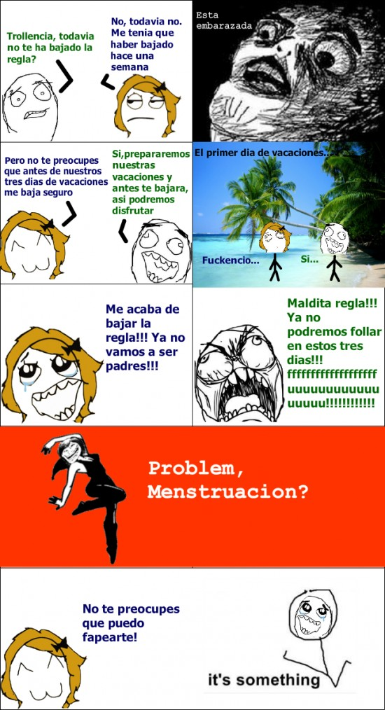 Its_something - Menstruación troll