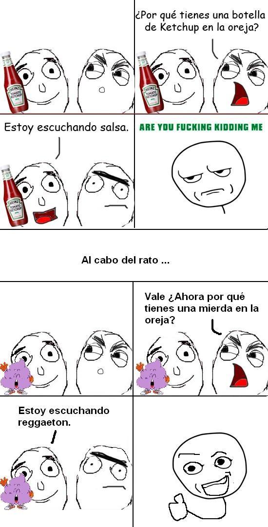 Kidding_me - Ketchup y Reggaeton