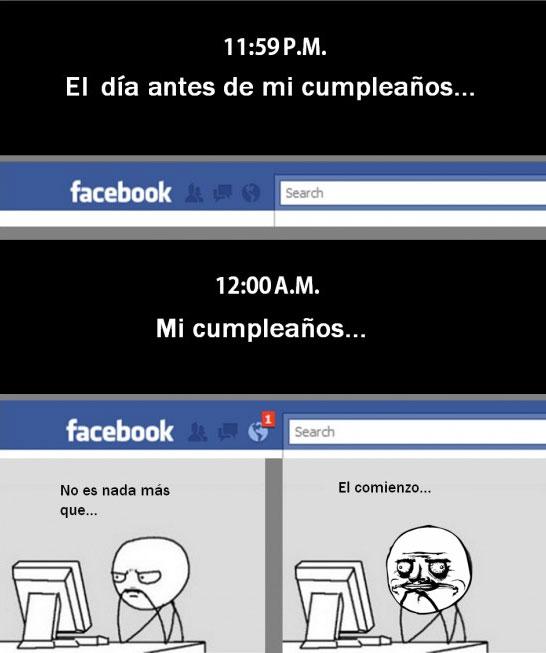 Me_gusta - Facebook por cumpleaños