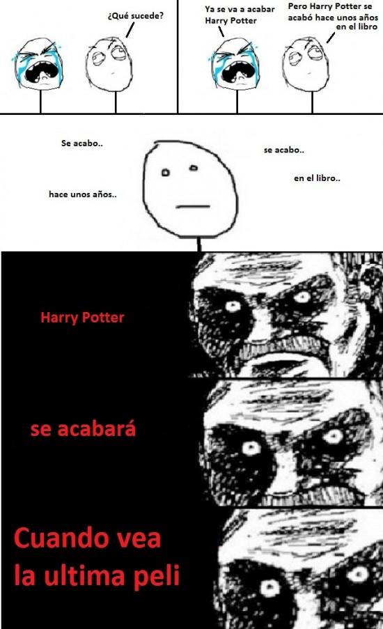 Mirada_fija - Final de Harry Potter