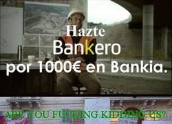 Enlace a Bankia nos toma por tontos