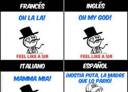 Enlace a Quejarse en Idiomas