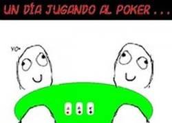 Enlace a Típica partida de Poker