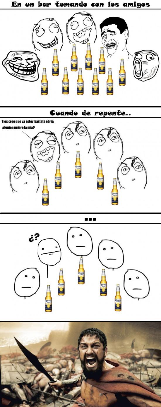 Otros - Cuando ya estás muy borracho en el bar