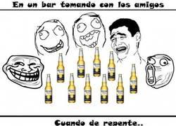 Enlace a Cuando ya estás muy borracho en el bar