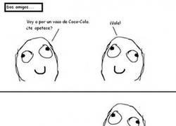 Enlace a Coca-Cola, siempre con burbujas