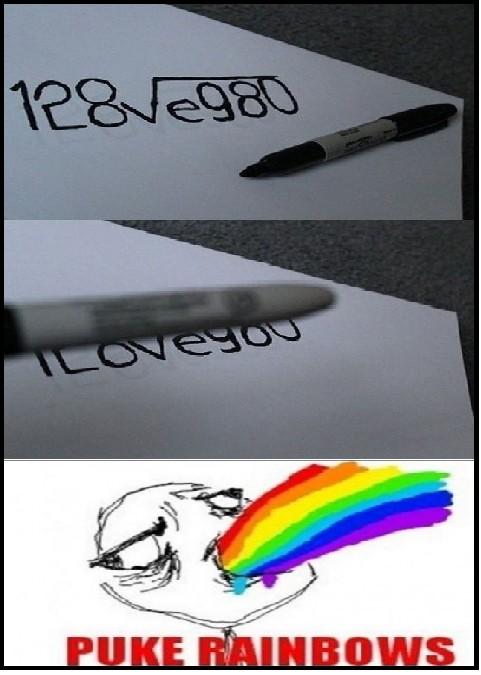 Puke_rainbows - Matemática cursi