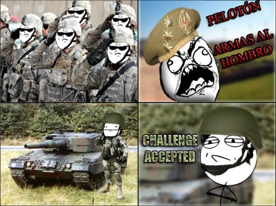 Challenge_accepted - Órdenes son órdenes