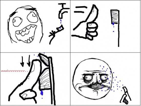Me_gusta - Después de cepillarse los dientes