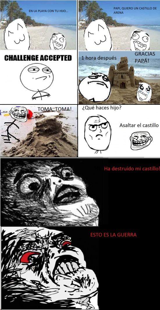 Inglip - Castillo de arena