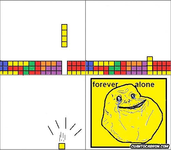 Forever_alone - Forever alone - Tetris