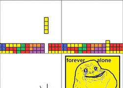 Enlace a Forever alone - Tetris