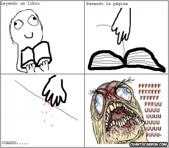 corte,fffuuuu,libro,página,sangre