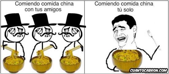 Mix - Comiendo comida china