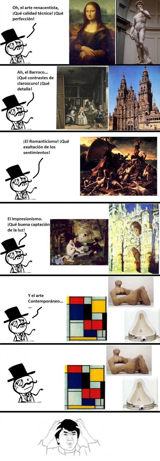 Feel_like_a_sir - El arte contemporáneo
