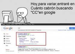 Enlace a CC en Google.es