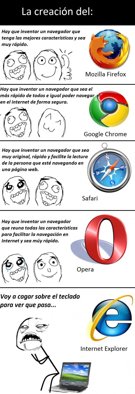 Otros - La creación de los navegadores