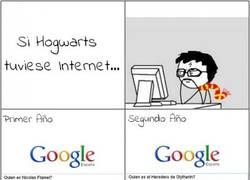 Enlace a Hogwarts con Internet