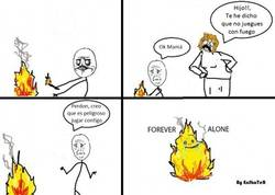 Enlace a Fuego Forever Alone