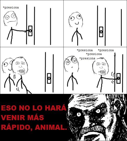 Mirada_fija - Esperando el ascensor