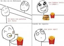 Enlace a Comiendo en McDonalds