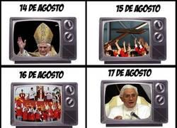Enlace a Cansinos con el Papa