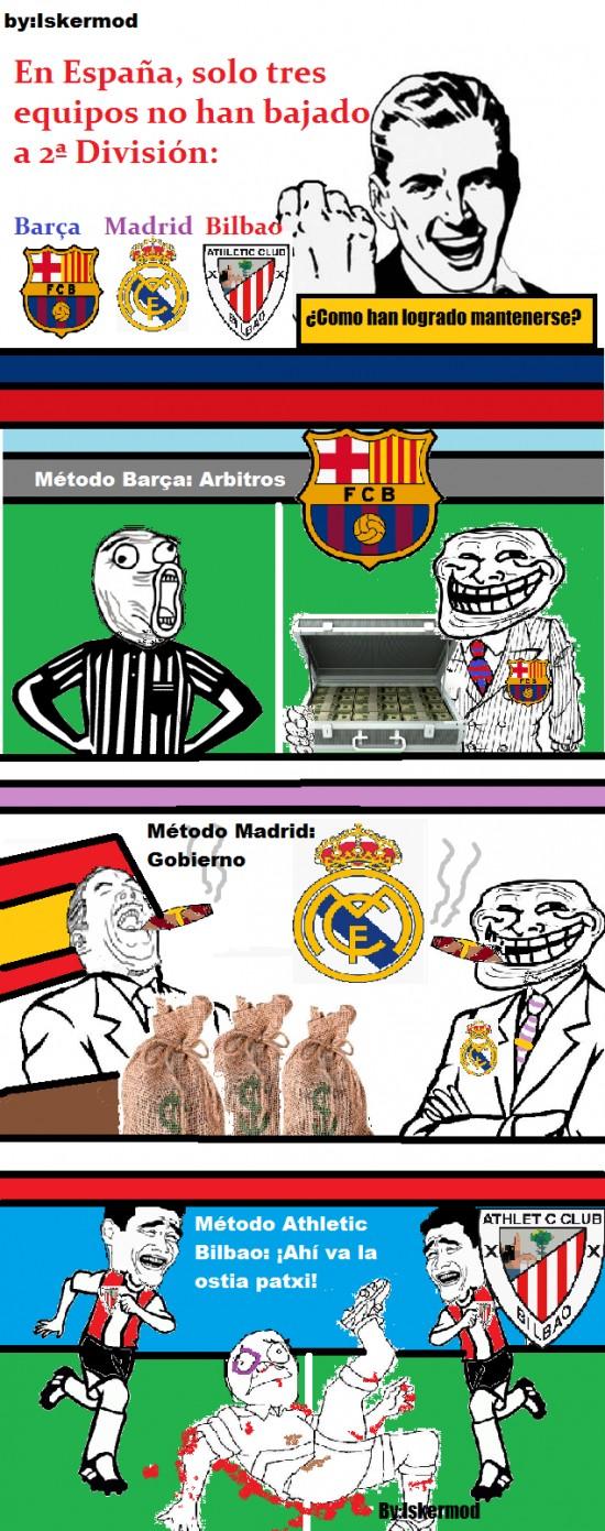 Barça,Bilbao,equipos,Futbol,Madrid
