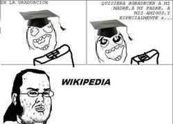 Enlace a En la graduación