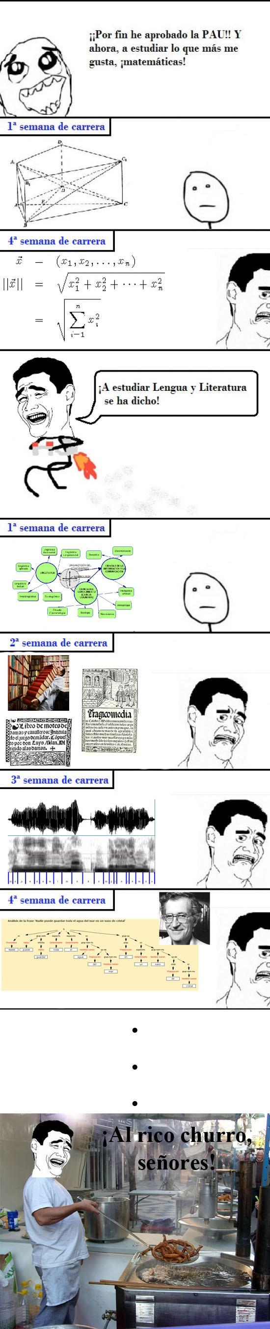 churros,filologia,nothing to do here,universidad,Yago ming