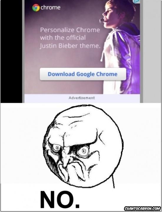 No - NO a chrome